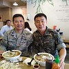 The guy I replaced (Andy) and my South Korean counterpart from the ROK Army.