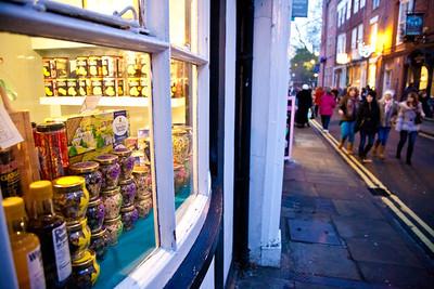 Shopping in High Petergate, York