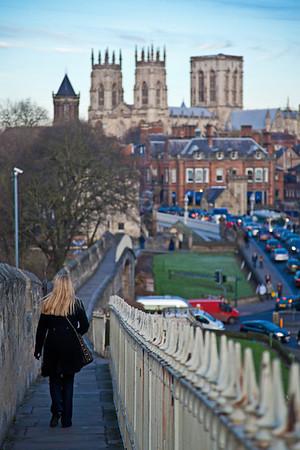 York's city walls