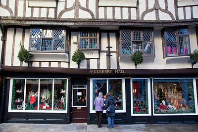 Shopping in Stonegate, York