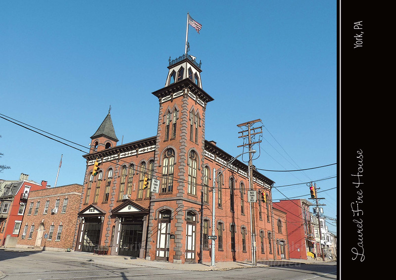 """Featuring the image """"An Iconic Fire Station"""""""
