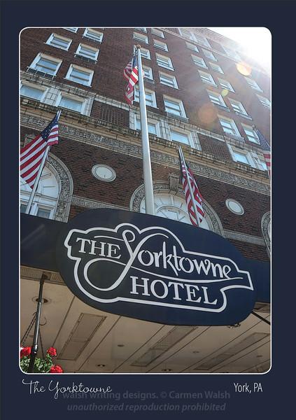 "Featuring the image ""The Patriotic Yorktowne"""