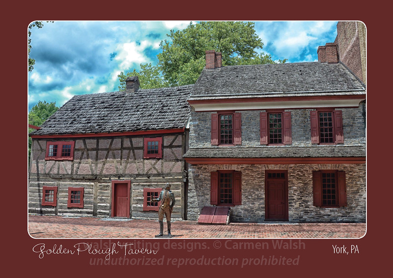 "Featuring the image ""Golden Plough Tavern"""