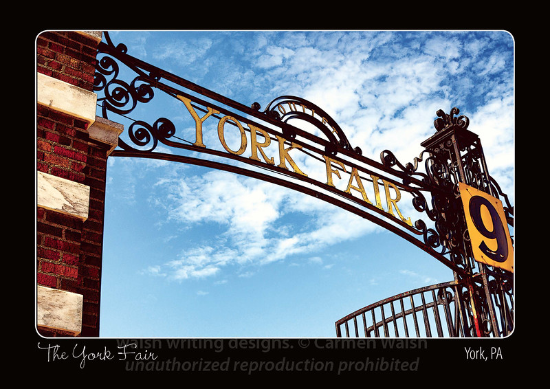 "Featuring the image ""York Fair Gate No. 9"""