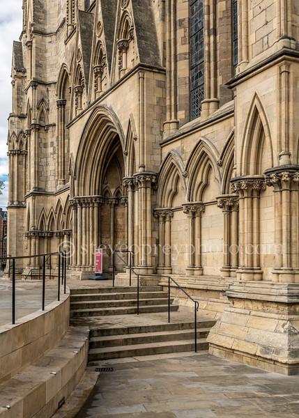 York Minster Entrance