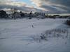 Snow drifts in Ellis Park, Jan 11