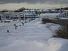 Drifts on the boardwalk, Jan 11