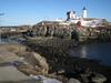 Nubble land bridge at low tide, Feb 8