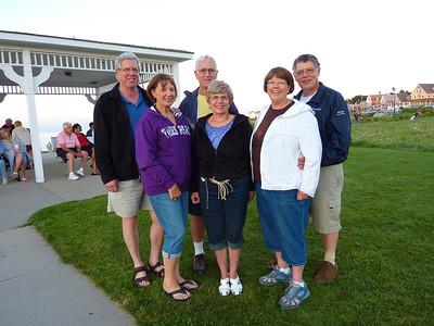 Joyce, Roger, Nancy and Peter visit Ocean House