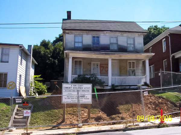 The old house at 70 E. High St.