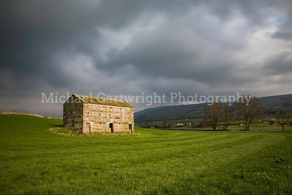 Sunlit Barn, Yorkshire Dales