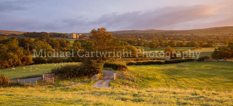 Bolton Castle Sunrise