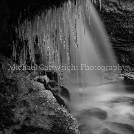 Mother Nature, Showing Her Teeth. West Burton Falls