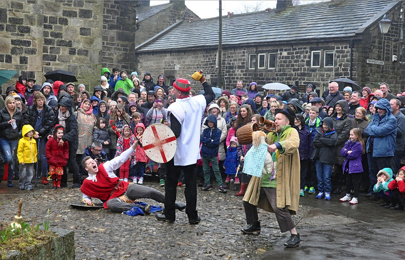 Heptonstall - Pace Egg Play