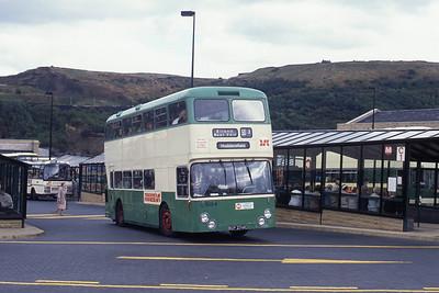Yorkshire Rider 3084 Halifax Bus Stn 1 Sep 89