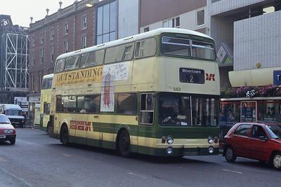 Yorkshire Rider 583 Briggait Leeds Sep 91