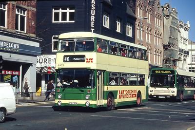Yorkshire Rider 6435 Vicar Lane Leeds Mar 94