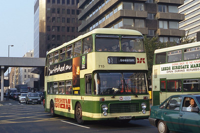 Yorkshire Rider 715 County Square Leeds Sep 91
