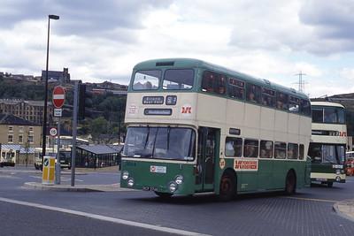 Yorkshire Rider 3084 Halifax Bus Stn 2 Sep 89