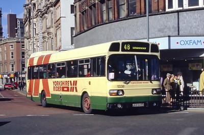 Yorkshire Rider 1338 Boar Lane Leeds Mar 94