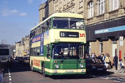 Yorkshire Rider 6429 High Street Morley Mar 94