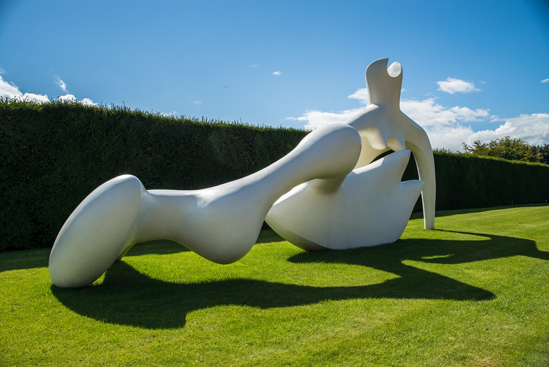 Reclining Figure in White