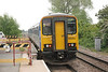 150 140 + 153 324 <br /> <br /> Depart Hensall heading for Goole  <br /> <br /> 2F25 17.16 Leeds - Goole <br /> <br /> 11th June 2013