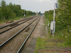Pic by Liz <br /> <br /> Shot looking towards Goole from the Leeds bound platform. <br /> <br /> in the very far distance by the house Heck Lane crossing can just be made out if you blow the pic up