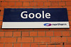 Goole <br /> <br /> Address:<br /> <br /> Boothferry Road<br /> <br /> Goole<br /> <br /> East Riding of Yorkshire<br /> <br /> DN14 5DD <br /> <br /> Journeys end for the Ghost Train Service. <br /> <br /> The train Terminates here runs empty to the siding just outside the <br /> <br /> station then comes back into the station about 10 mins before <br /> <br /> departure and waits time.