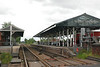 shot taken showing the station taken from the Level Crossing looking towards Hull