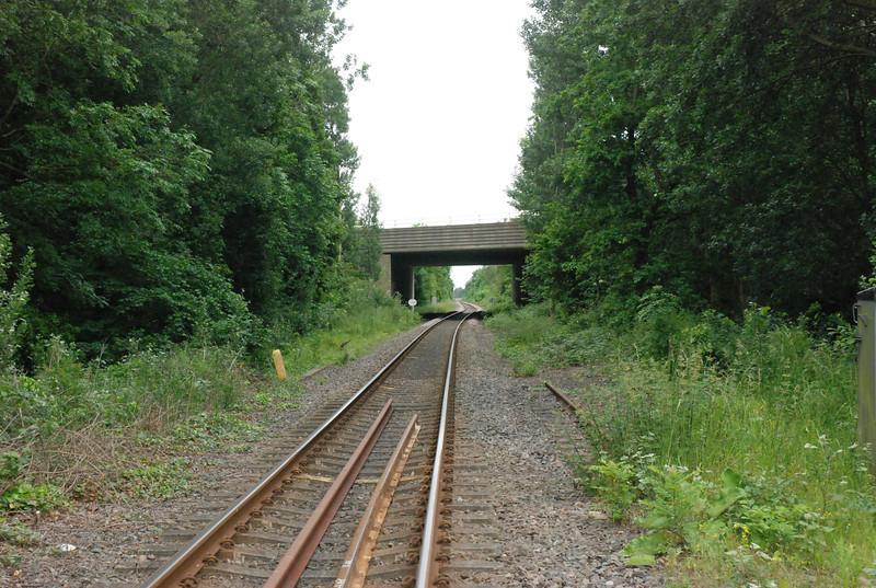 shot taken from the Rail crossing looking towards Goole