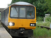 Pic by Liz <br /> <br /> Close up of 144014 as it comes into Rawcliffe on the 18.49 Goole - Leeds