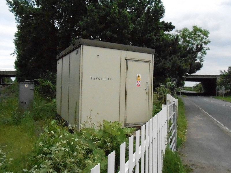 Pic by Liz <br /> <br /> Rawcliffe crossing box cabin