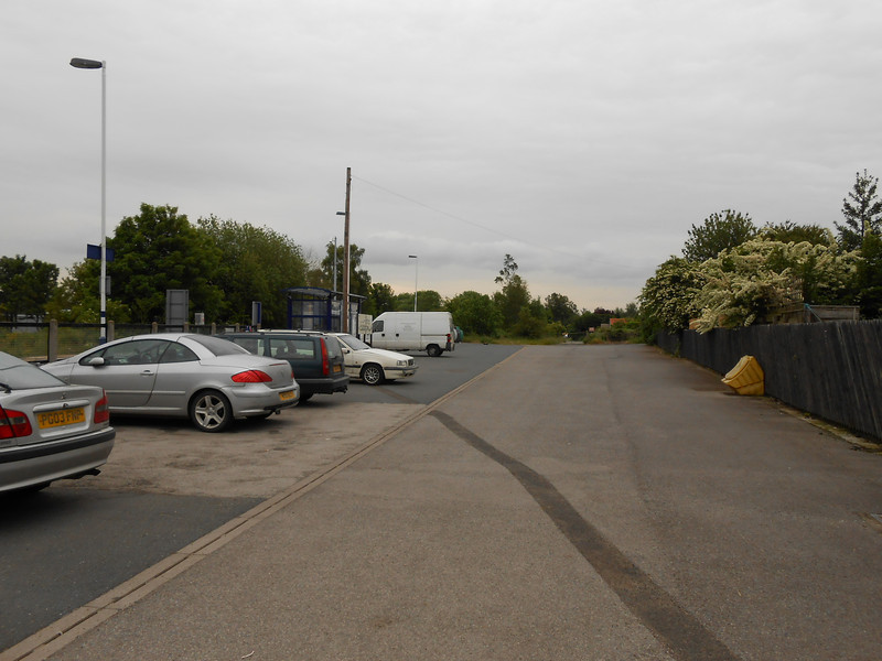 picture by Liz <br /> <br /> For a Ghost Station it does have a massive Car - Park