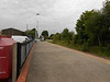 Pic by Liz <br /> <br /> This shot shows how sparse Snaith station is as this shot by Liz <br /> <br /> shows the platforms are quite long but the train only stops on one <br /> <br /> part of the raised platform and the Gaurd only opens one door so <br /> <br /> you have to make sure that you in the right part of the train to get <br /> <br /> off!!