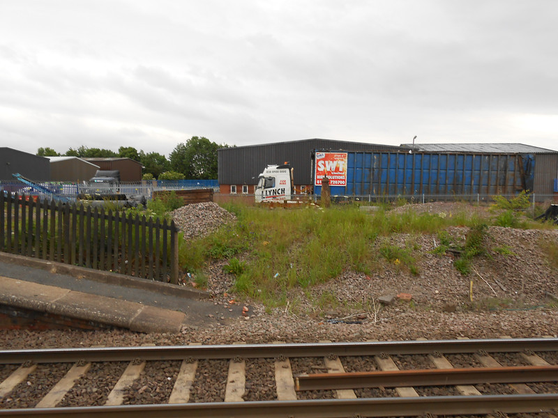 pic by Liz <br /> <br /> Shot taken from the Goole platform looking across at Maltings industrial estate Road