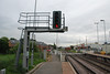 turning 360 degree round and this shot shows the signal gantry and the <br /> <br /> road crossing and the exit onto the main road