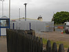 pic by Liz <br /> <br /> Looking over the fence of the Leeds bound platform at the Car Park