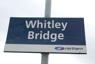 Whitley Bridge   Liz Ghost Station # 21  GSM # 34 Address:   The Maltings Industrial Estate  Doncaster Road  Whitley Bridge  Goole  East Riding of Yorkshire  DN14 0HH   The first station down the line after Knottingley we are gonna get round to doing this soon but from what i've viewed from the train there isnt very much here except for a pub and a few industrail buildings and thats it!!!