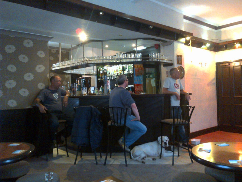 Inside of the Jolly Miller pub