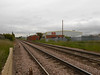 pic by Liz <br /> <br /> Showing the industrial buildings as the line heads towards Goole