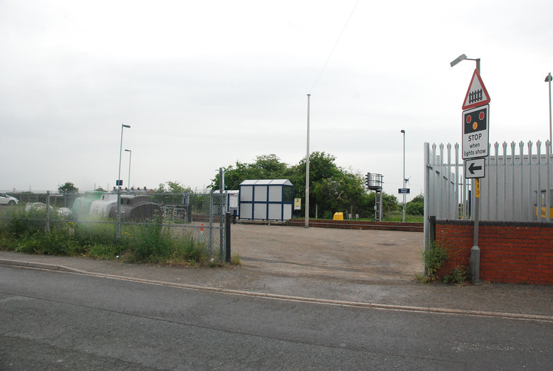 Pic of the Car Park Entrance off Maltings Ind Estate Road