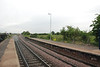 Shot from the Leeds platform at the Knottingley end near the top of the <br /> <br /> platform looking towards Knottingley