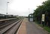 Shot taken from the Goole end of the Platform looking back towards Knottingley