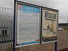 pic by Liz <br /> <br /> Showing the usual timetable boards on the Leeds bound platform