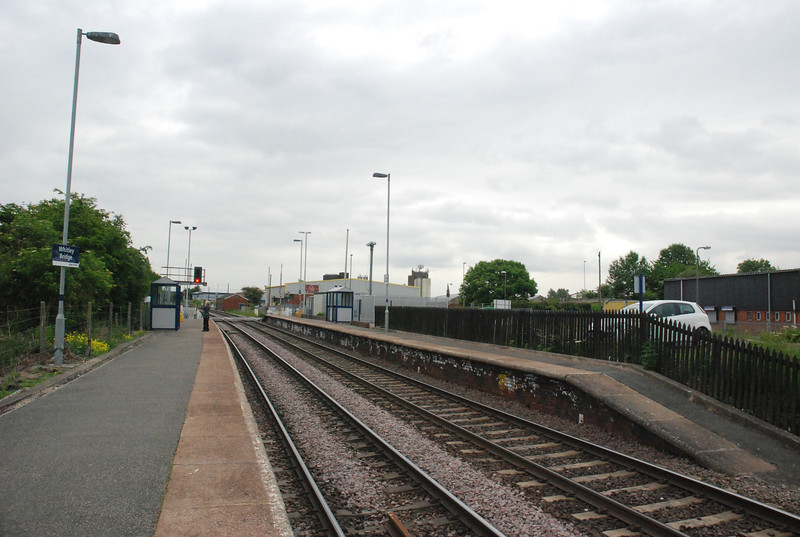 Whitley bridge is a very small station with to say the least not much there <br /> <br /> Shot taken looking towards Goole with the Leeds bound platform on the right