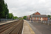 Pontefract Baghill looking towards Sheffield from the York Bound platform