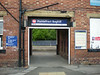 Picture by Liz:<br /> <br /> Even has the station name over the entrance arch