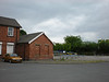 Picture by Liz:<br /> <br /> Shot of the Driving Test company car park that occupy the part of the Station buildings