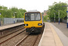 144009 <br /> <br /> arrives in to Pontefract Baghill <br /> <br /> on the parly move the <br /> <br /> 13.28 Sheffield - York
